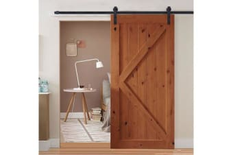 2m Sliding Barn Door Hardware Track Kit
