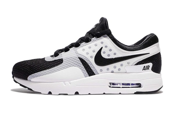Nike Men's Air Max Zero Essential Shoe (White/Black, Size 7.5)