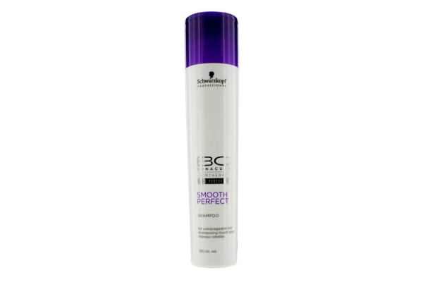 Schwarzkopf BC Smooth Perfect Shampoo (For Unmanageable Hair) (250ml/8.4oz)