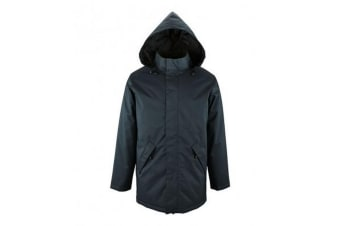 SOLS Unisex Adults Robyn Padded Jacket (French Navy) (3XL)