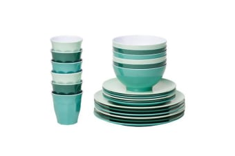 Barel Classic Melamine Dinner Set 24pc Harmony