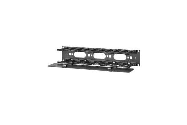 APC - SCHNEIDER Horizontal Cable Manager 2U x 4IN Deep Single-Sided with Cover