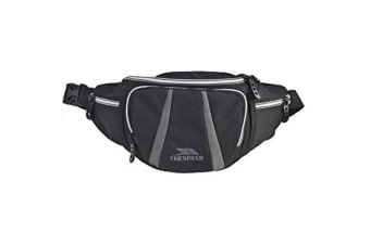 Trespass Dax Bumbag / Waistbag / Hippack (2.5 Litres) (Black) (One Size)
