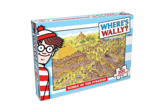300pc Where's Wally Pyramid Riddle 61cm Jigsaw Puzzle Educational Kids/Child 6y+