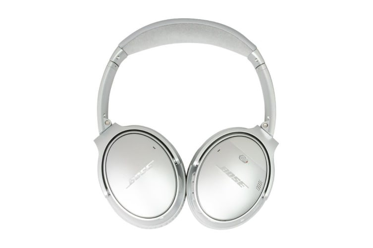 Bose QuietComfort 35 II Wireless Headphones (Silver)