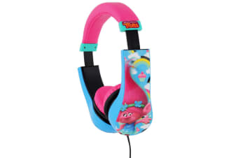Trolls Volume Limiting Kids Headphones