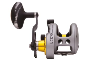 Fin-Nor Lethal Overhead Fishing Reel with Star Drag - 6 Stainless Steel Bearings [Model: LTC 16]
