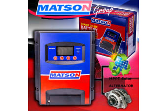 MATSON 12V VOLT DC TO DC 30A AMP BATTERY CHARGER AGM DEEP CYCLE SOLAR LV MA30DCS