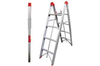 TRA 4 Step Collapsible Box Stick Ladder
