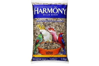 Harmony Wild Bird Sunflower Seed Mix - 1.5kg