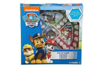 Paw Patrol Pop Up Board Family Activity Game Toddler/Kids/Children Age 3y+ Toys
