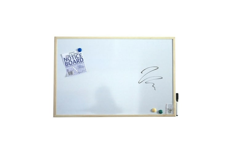 Nicoline Magnetic Dry Wipe Board (White) (Large)