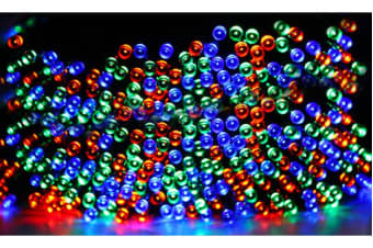 52M 500LED Multi Coloured String Solar Powered Fairy Lights