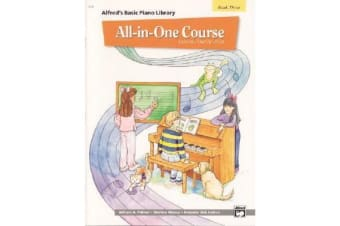 Alfred's Basic All-In-One Course, Bk 3 - Lesson * Theory * Solo