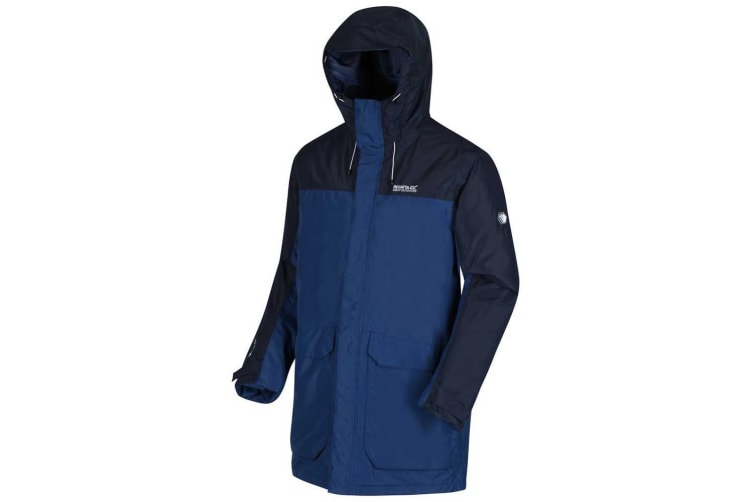 Regatta Mens Largo II Waterproof Insulated Jacket (Navy) (XXL)
