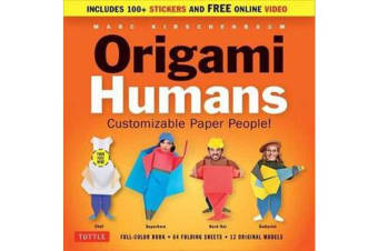 Origami Humans Kit - Customizable Paper People!