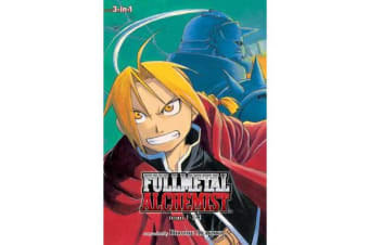 Fullmetal Alchemist (3-in-1 Edition), Vol. 1 - Includes vols. 1, 2 & 3