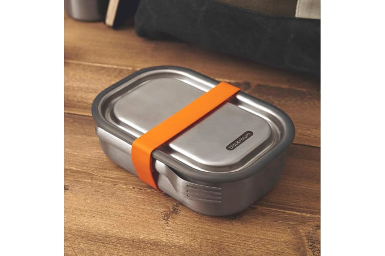 Black + Blum 1L Vacuum Insulated Stainless Steel Lunch Food Box Container Orange