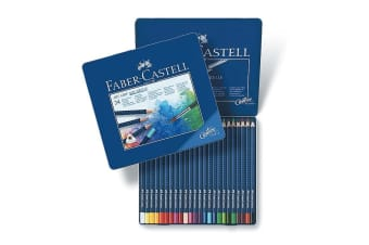 Faber-Castell Creative Studio Art Grip Watercolour Pencils (24 Pack)