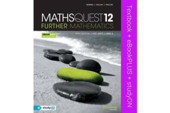 Maths Quest 12 Further Mathematics 5E VCE Units 3 and 4 & eBookPLUS + StudyOn VCE Further Mathematics Units 3 and 4 2E