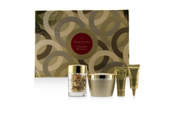Elizabeth Arden Ceramide Premiere Intense Moisture and Renewal Set: Cream 50ml +Capsules Serum 14ml+ Overnight Cream 5ml+ Eye Cream 5ml 4pcs