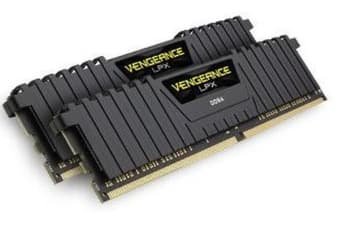 Corsair Vengeance LPX 16GB (2x8GB) DDR4 3000MHz C15 Desktop Gaming Memory Black