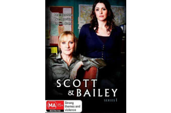 Scott & Bailey: Series Season One 1 (Australia Region 4) DVD - NEW