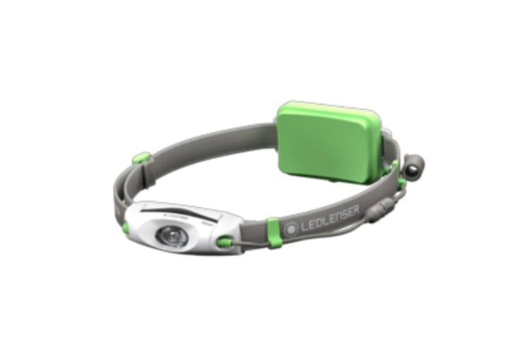 LED LENSER NEO6R Headlamp RECHARGEABLE 240 Lumens Head Torch GREEN