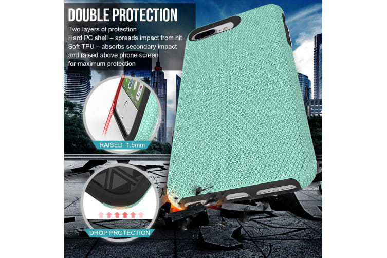 For iPhone 6 PLUS & 6S PLUS Case Mint Armor Slim Light Protective Phone Cover