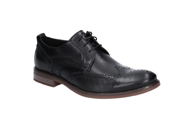 Rockport Mens Wynstin Wingtip Leather Shoe (Black) (7 UK)