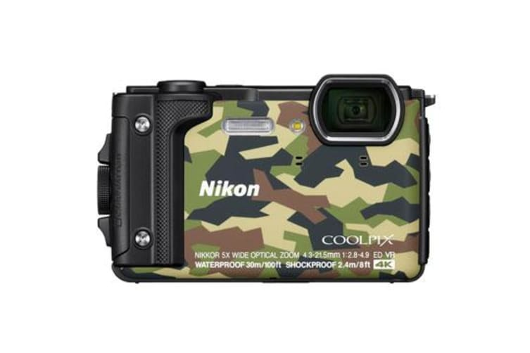 New Nikon Coolpix W300 16MP Digital Camera Camo (FREE DELIVERY + 1 YEAR AU WARRANTY)