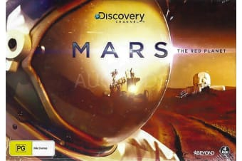 BOX SET: MARS: THE RED PLANET - Series Rare- Aus Stock DVD NEW