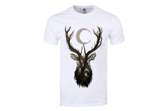 Unorthodox Collective Mens Jackalope T Shirt (White)