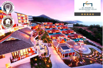 THAILAND: 3, 5 or 7 Nights at KC Resort & Overwater Villas, Koh Samui for Two