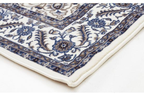 Medallion Rug White with White Border 330x240cm