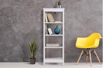Shangri-La Book Shelf - Brighton Collection (White)