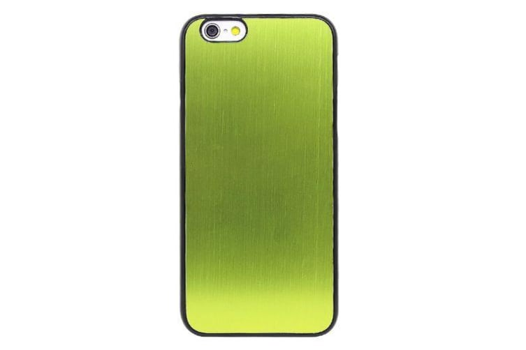 For iPhone 6S PLUS 6 PLUS Case Modern Durable Brushed Shielding Cover Green