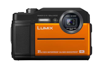 Panasonic Lumix TS7 /-FT7 Digital Camera (Orange)