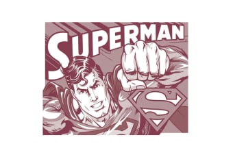 Superman Retro Tin Sign III
