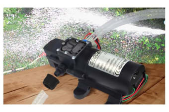 Self Priming Water Pump 12V 70W 130Psi 6Lpm