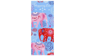 Scribbles Stationery Elephant Parade Shopping List Notepad