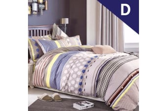 Double Size Adeline Design Quilt Cover Set