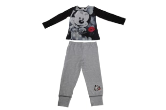 Minnie Mouse Childrens/Kids Signature Pyjama Set (Multicoloured)