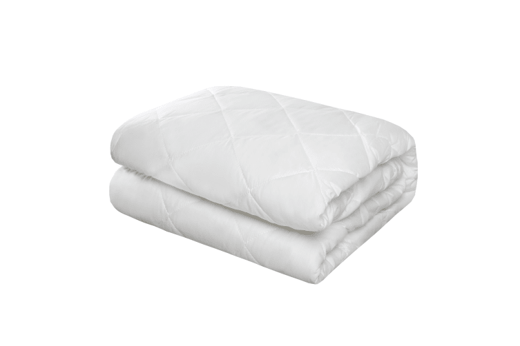 Quilted Cotton Cover Mattress Protector Double Bed