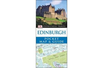 DK Eyewitness Pocket Map and Guide - Edinburgh