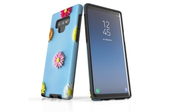 For Samsung Galaxy Note 9 Case  Shielding Back Cover  Flowers