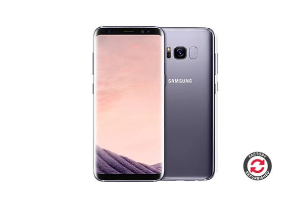 Samsung Galaxy S8 Refurbished (64GB, Orchid Grey) - AB Grade