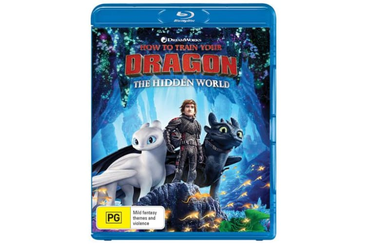 How to Train Your Dragon The Hidden World with Digital Download Blu-ray Region B