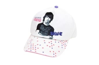 Clearance - Childrens/Kids Camp Rock Cap (White)