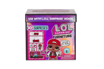 LOL Surprise Furniture with Cozy Coupe and MC Swag